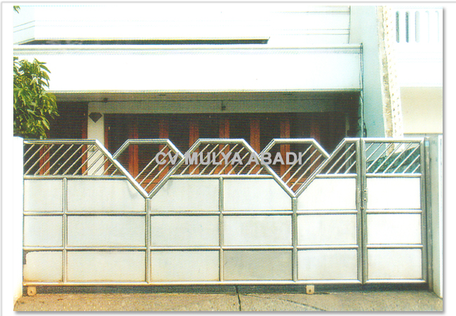 Pagar Stainless Steel