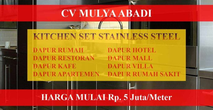 Harga Kitchen Set Stainless Steel